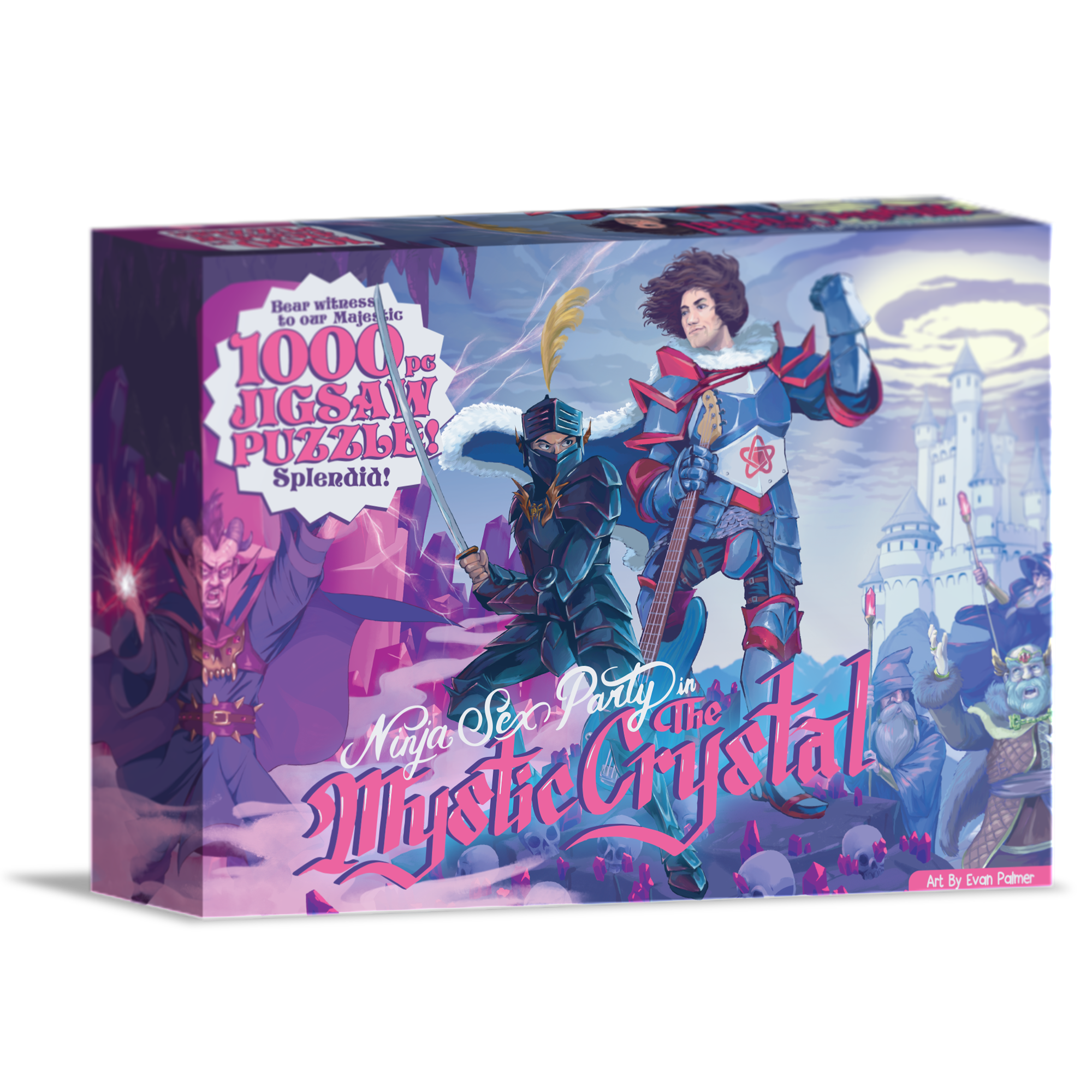 Mystic Crystal Puzzle