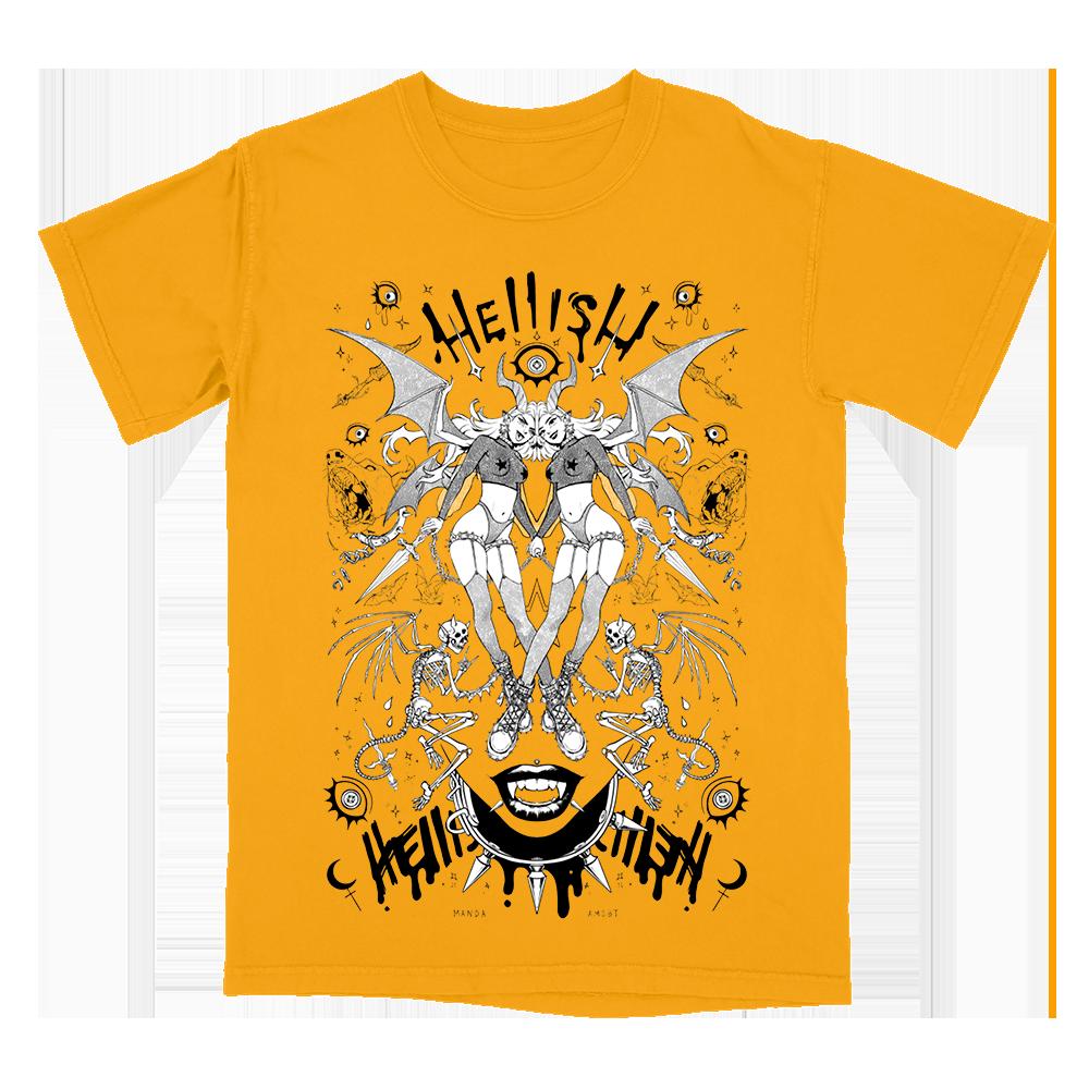 Hellish Tee (Gold)