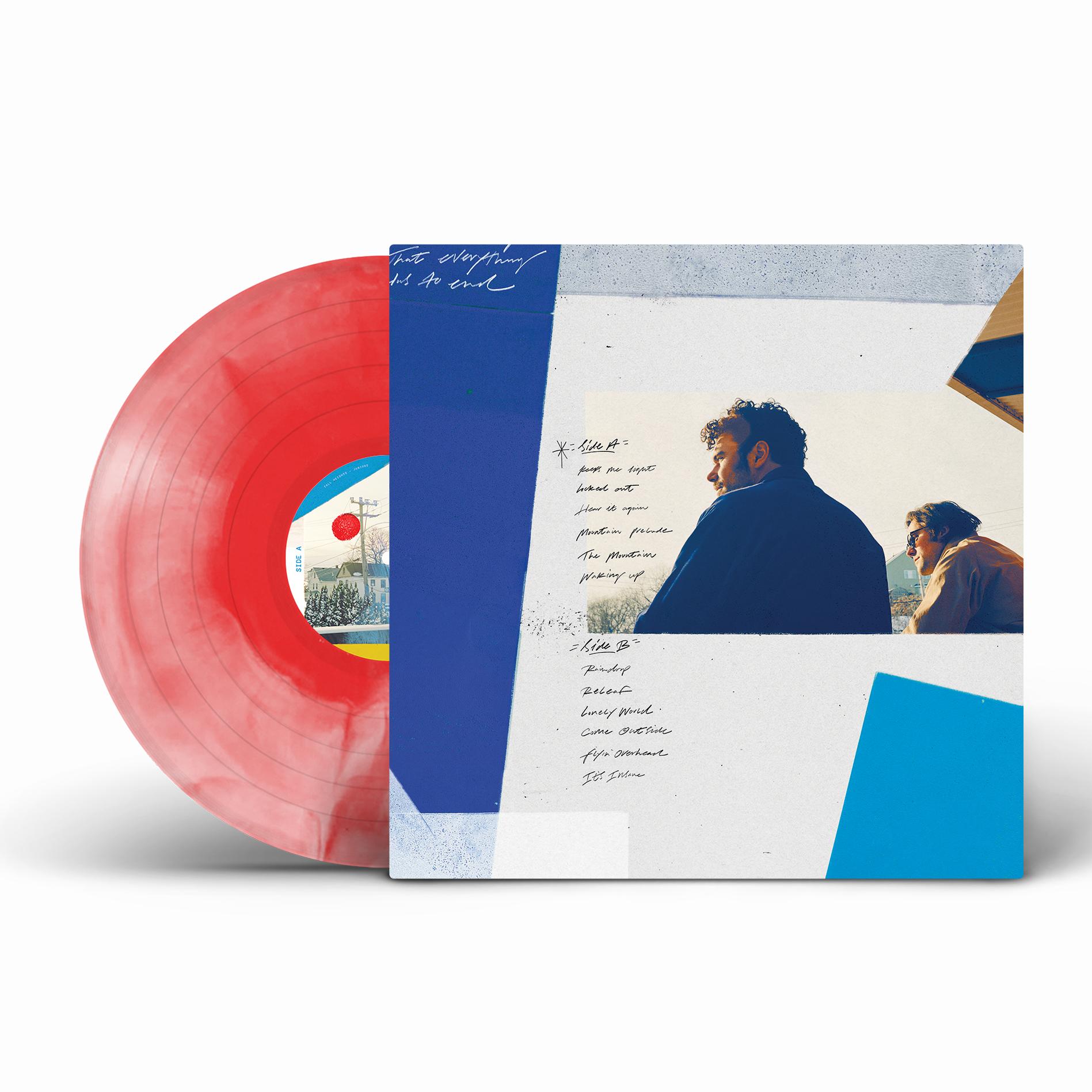 Juniors Vinyl - Ruby & White Swirl [Signed Pre-Order]