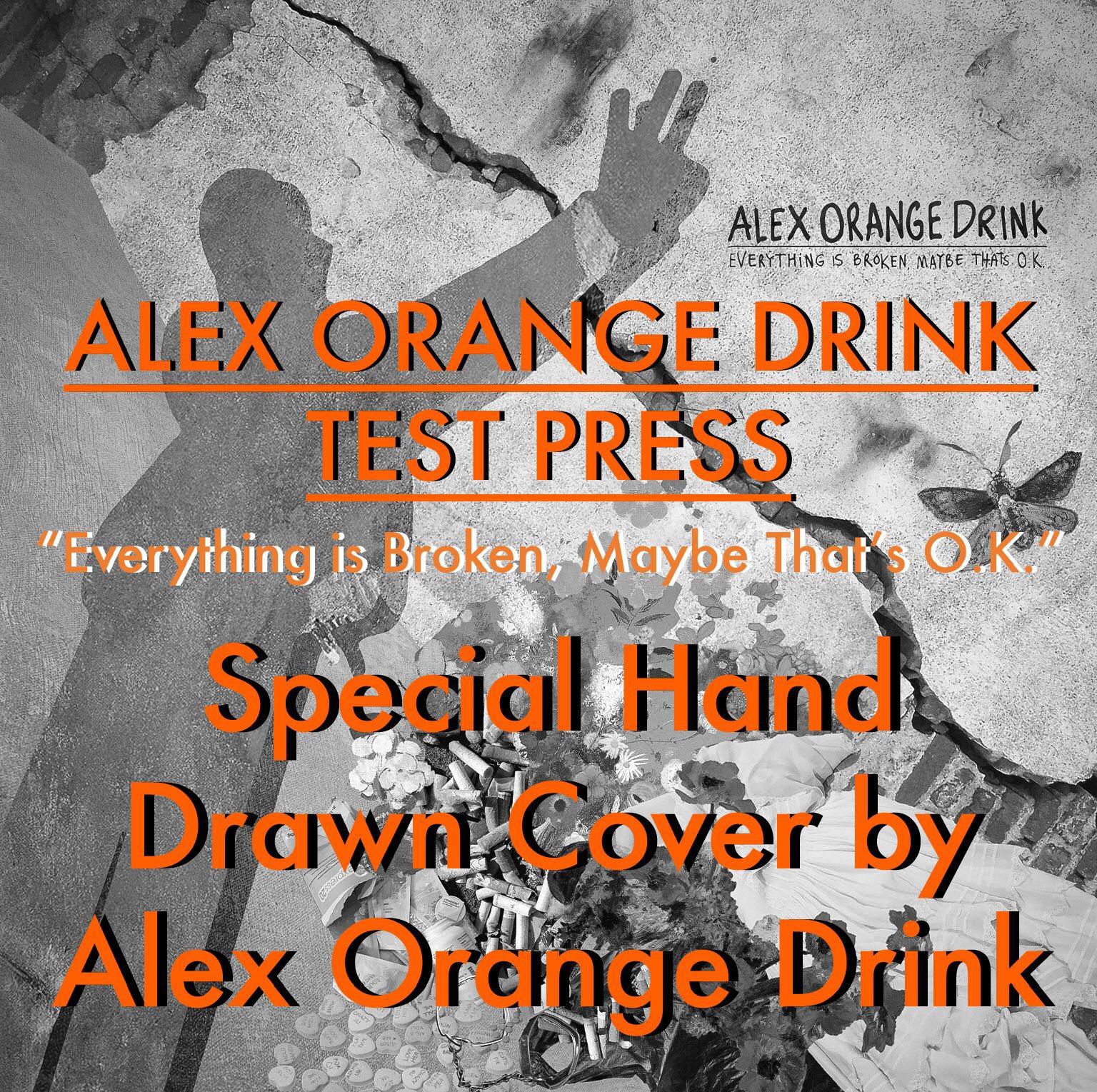 Alex Orange Drink