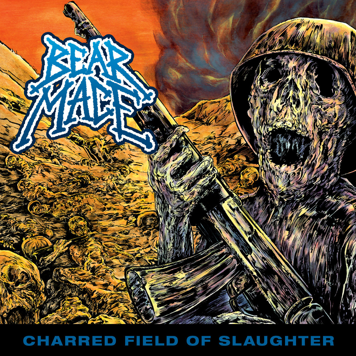 BEAR MACE - Charred Field of Slaughter
