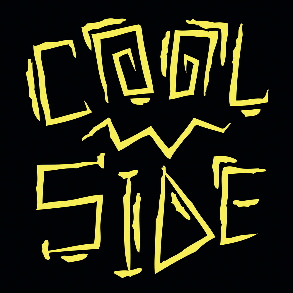 Coolside vinyl sticker