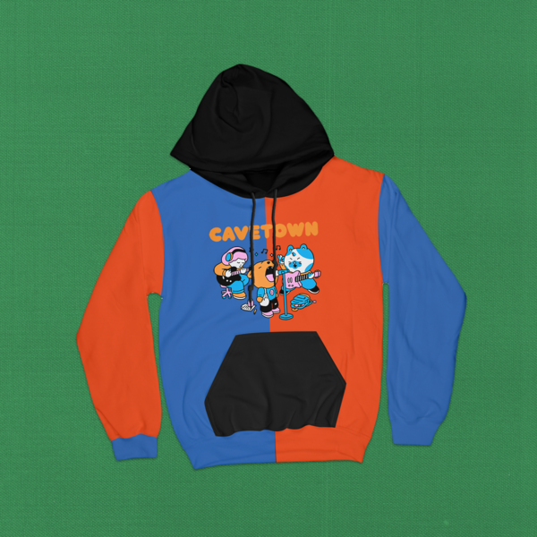 James Fisher Colorblock Band Hoodie