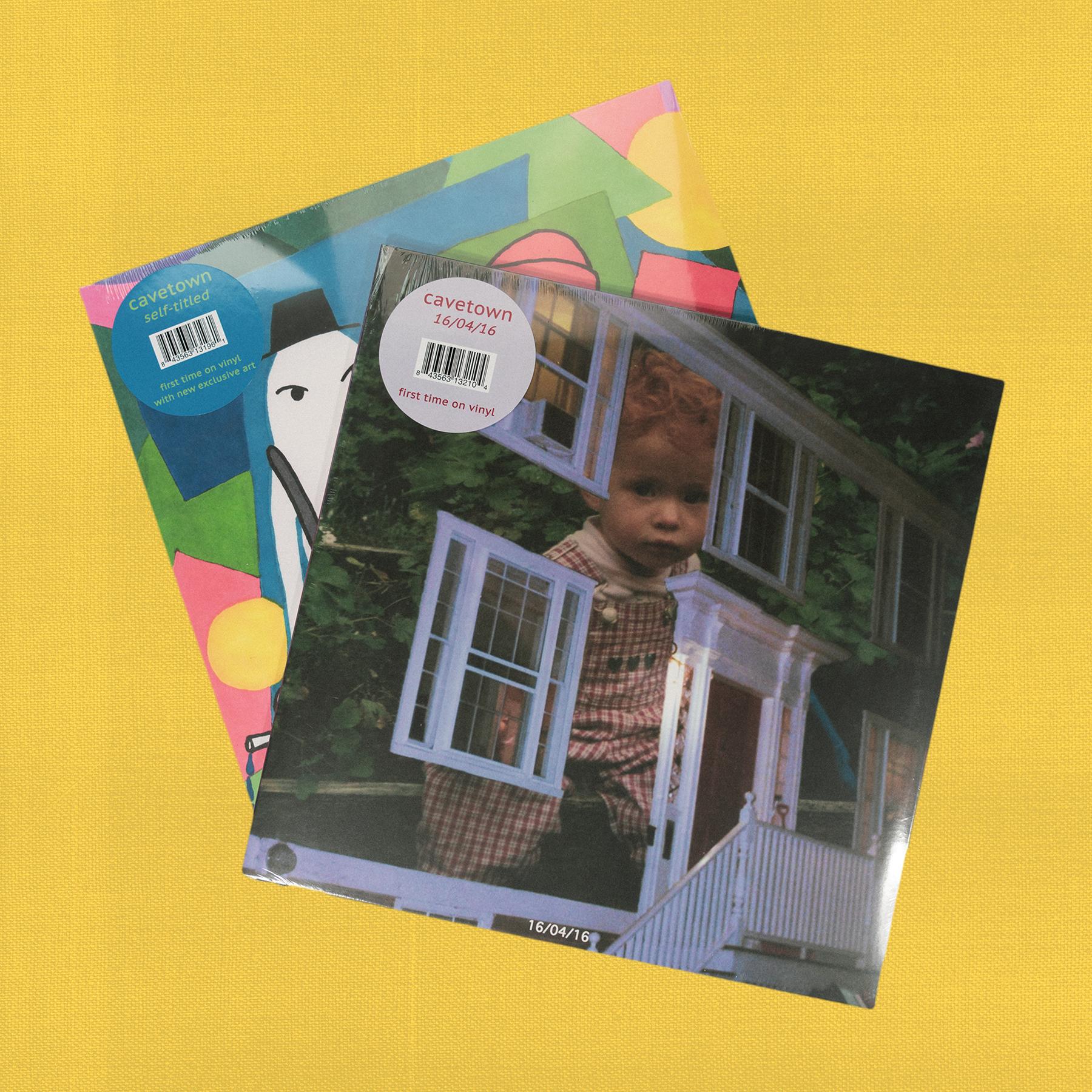 Self Titled + 16/04/16 Vinyl Bundle