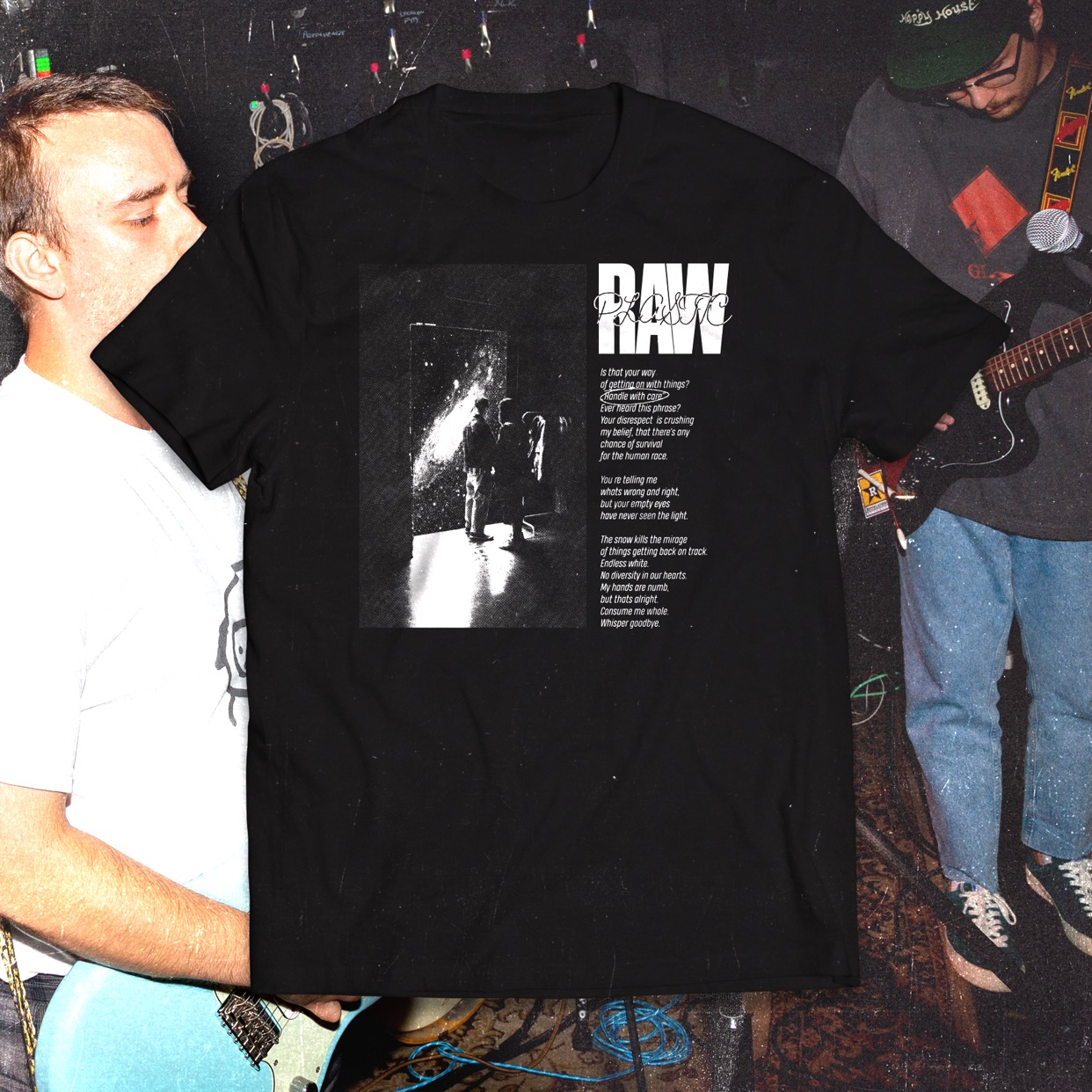 Raw Plastic - Handle With Care T-Shirt