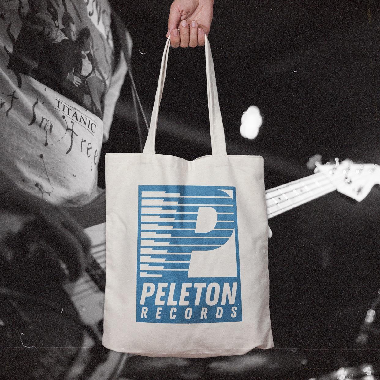 Peleton Records - Tote Bag Natural