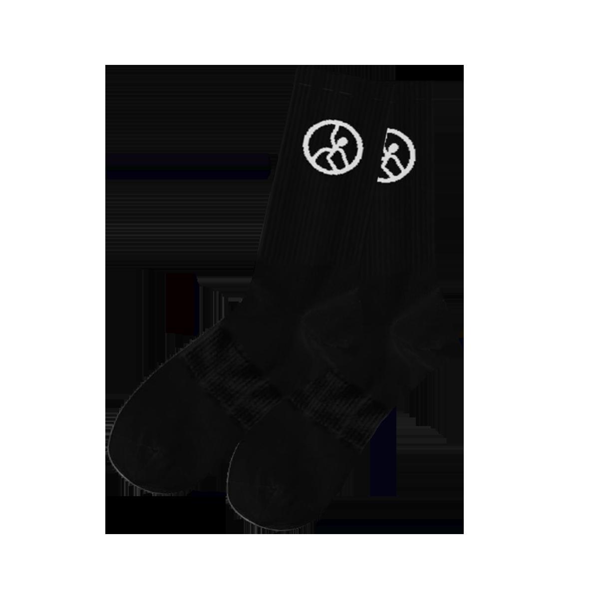 Hope For Sale Socks - Black