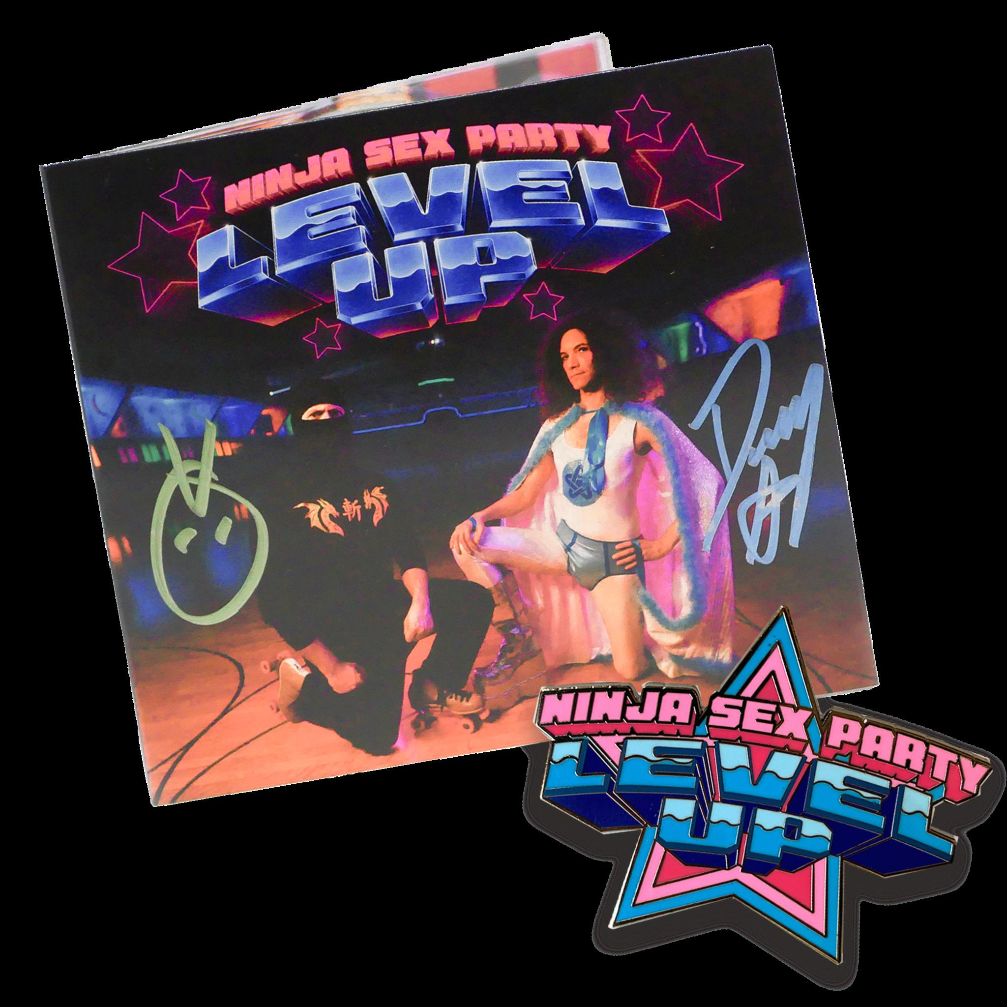 Level Up CD - Signed