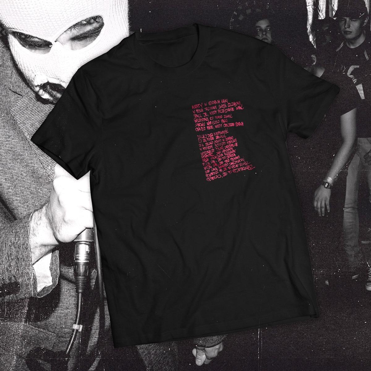 Hanako - Przetrwasz T-Shirt Black/Pink