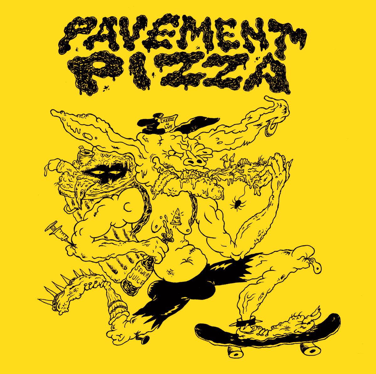 Pavement Pizza - Skuxx CD