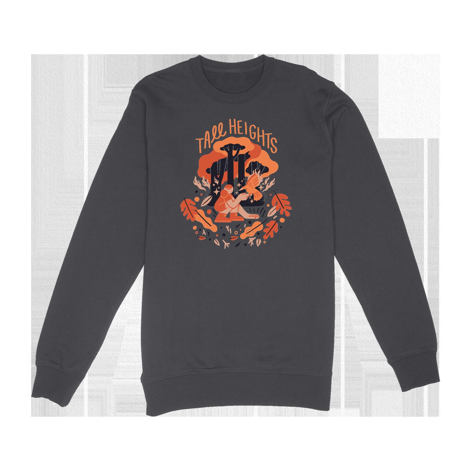 Fall Raglan Sweatshirt