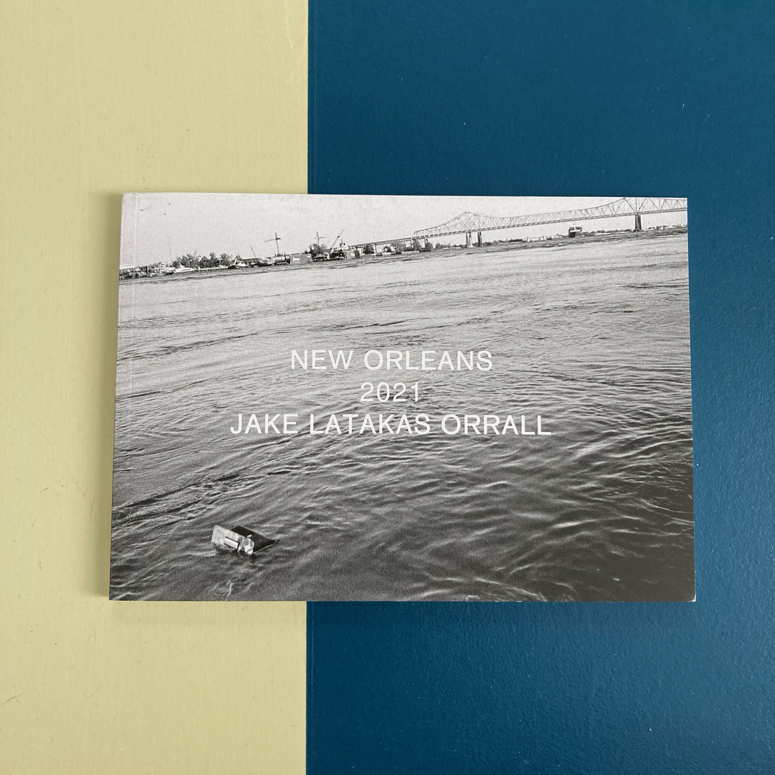 NEW ORLEANS 2021 - Photographs by Jake Latakas Orrall - LTD 50