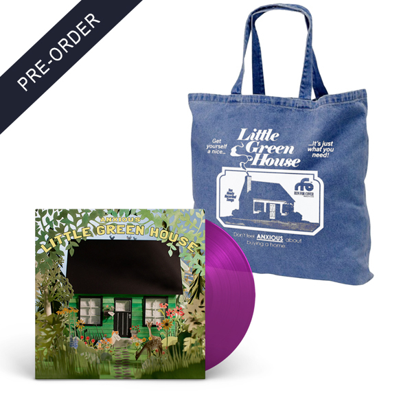 Anxious - Little Green House Tote Bag Bundle