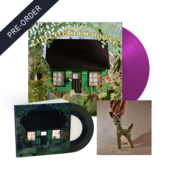 Anxious - Little Green House & Call From You Vinyl Bundle
