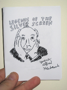 LEGENDS OF THE SILVER SCREEN Vol. 1 zine by Owen Ashworth