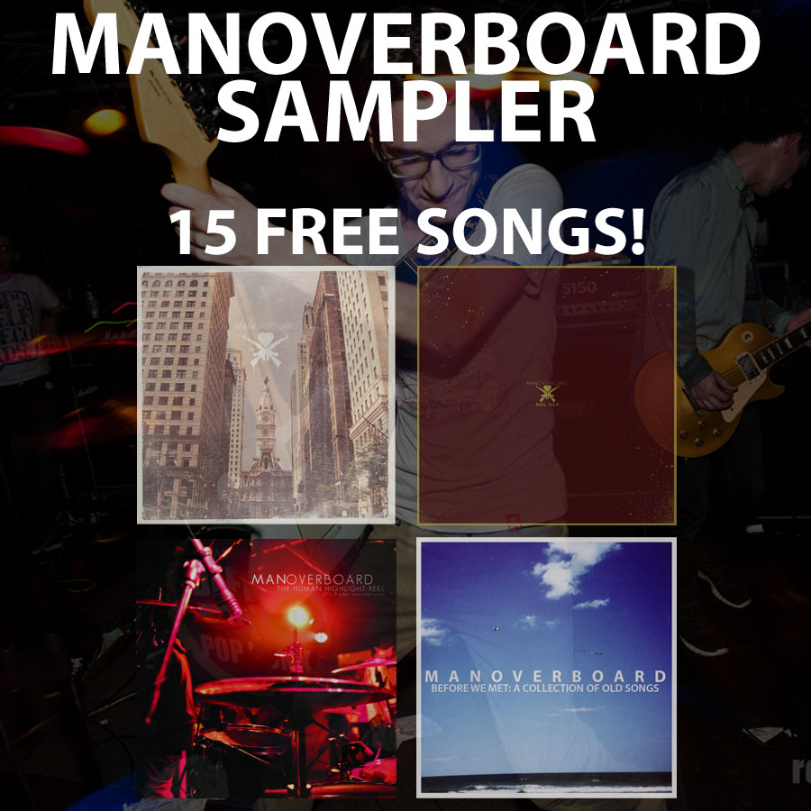 Free 15 Song Man Overboard Sampler