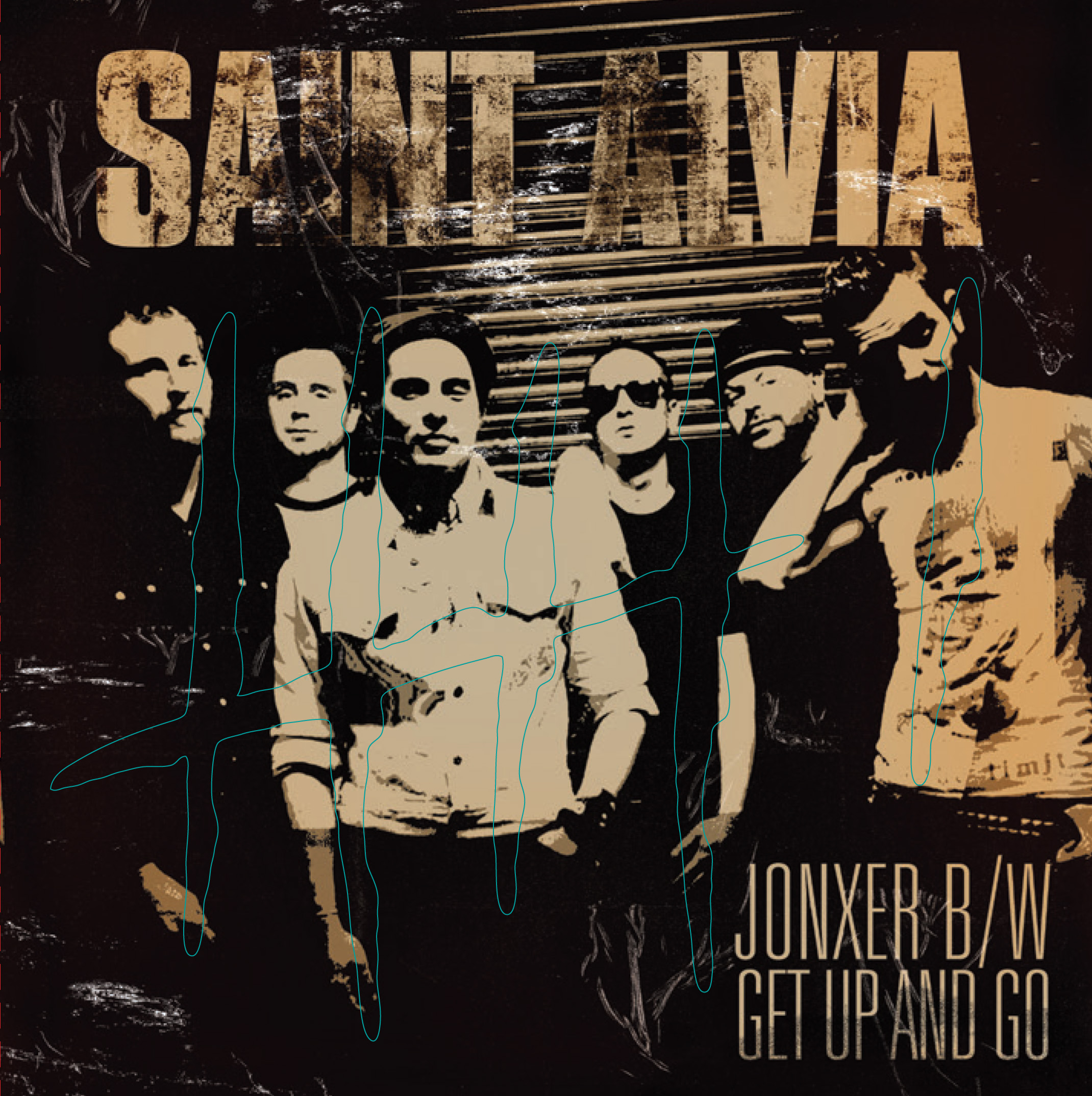 Saint Alvia - Jonxer b/w & Get Up and Go 7
