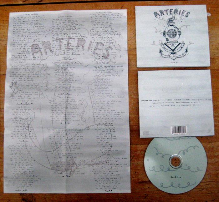 The Arteries - Dead Sea CD